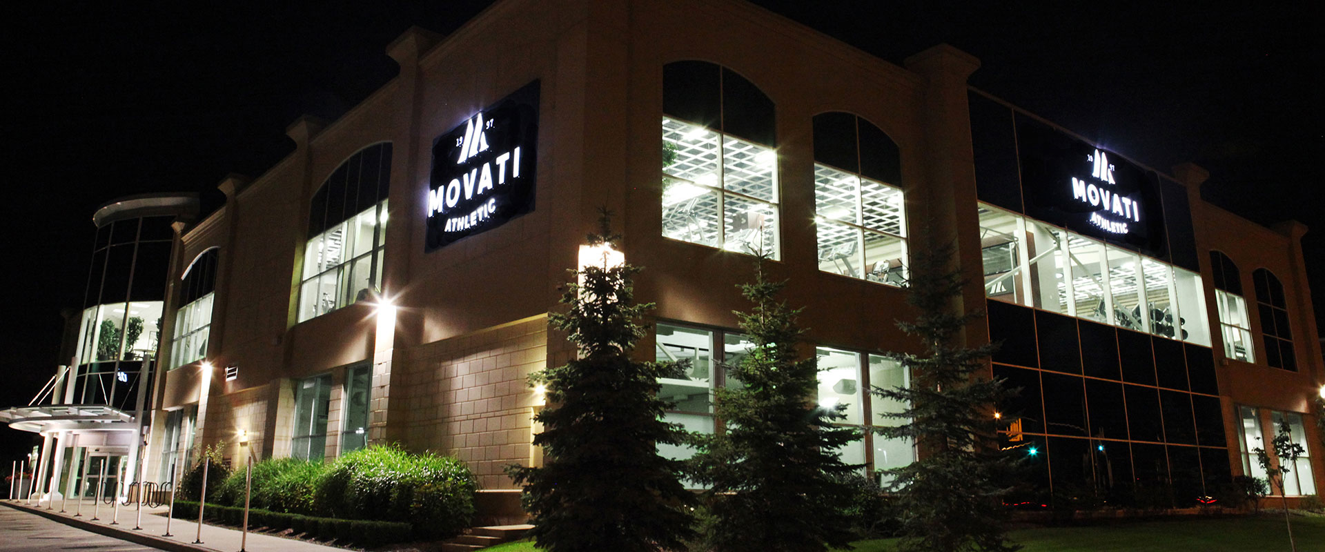 Movati Athletic Guelph - Exterior Night