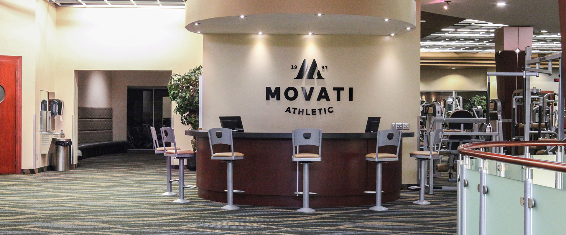 Movati Athletic Guelph - Upper Lobby
